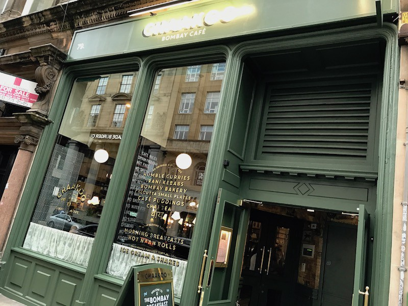 Chaakoo Bombay Cafe Glasgow : Review