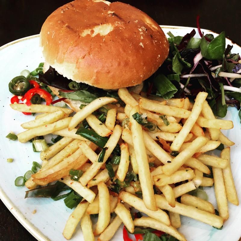 Beef Bulgogi Burger
