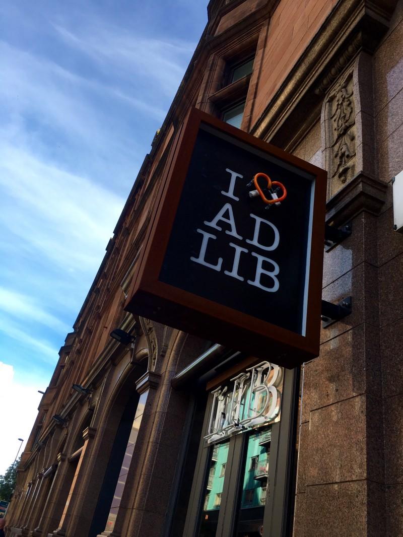 Ad Lib (Merchant City, Glasgow) :Review