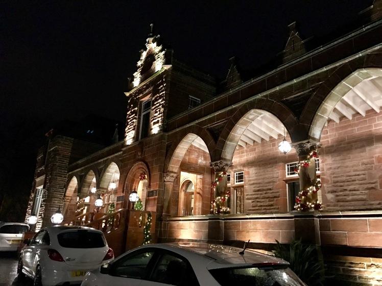 Boclair House Hotel Christmas Lights