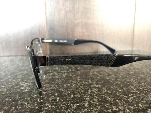 Designer Police Glasses : Side View 2