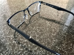 Designer Police Glasses : Side View
