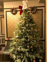 Boclair House Hotel Christmas Tree
