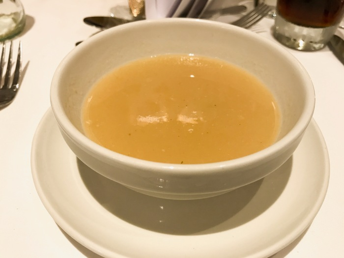 Parsnip and Honey Soup