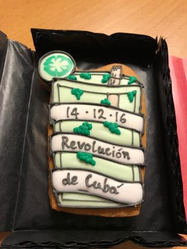 Revolution de cuba biscuit invite