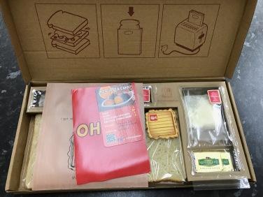 Cheese Postie : Box Contents