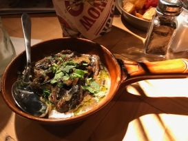 Revolution de Cuba : Cajun Cream Mushrooms