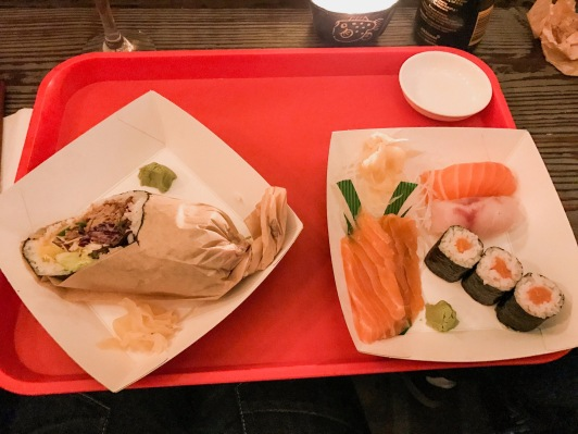 Temaki Glasgow : Salmon Sashimi, Maki, Nigiri & Sushi Burrito