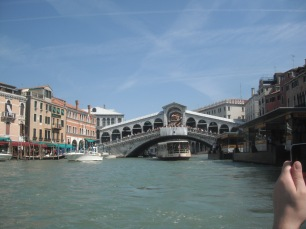 Venice Italy : View from Gondola