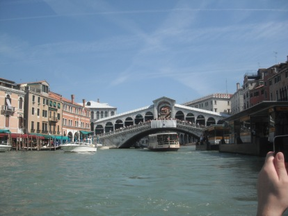 Venice Italy : View from Gondola