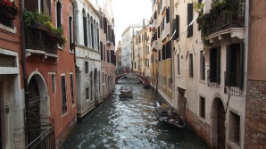 Venice Italy : Canal View