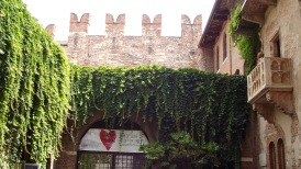 Verona Italy : Romeo and Juliet balcony