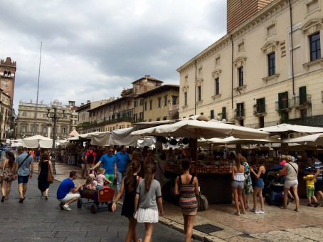 Verona Italy : Market