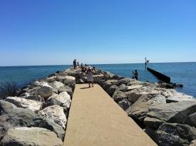 Lido Di Jesolo : Faro Rocks