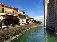 Verona Italy : Castle Side View