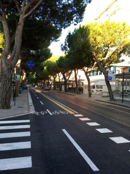 Lido di Jesolo Italy : Street View