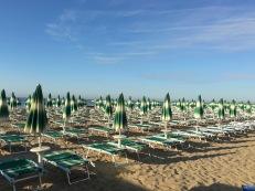 Lido di Jesolo Italy : Green Beach