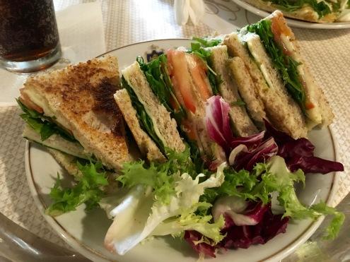 Cafe Florian : Club Sandwich