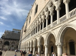 Venice Italy : Doge's Palace Palazzo Ducale