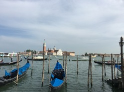 Venice Italy : Gondolas