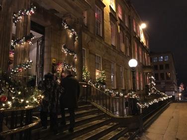 Blythswood Square Hotel Glasgow : Entrance 2