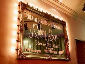 The Riding Room Mirror