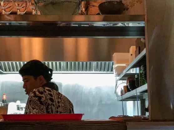Temaki Glasgow : Interior Kitchen