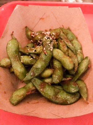 Temaki Glasgow : Spicy Kimchi Edamame