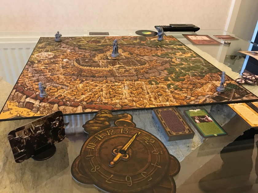 Labyrinth Game : Board Setup