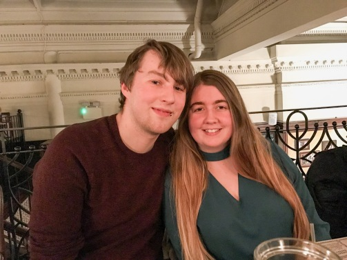Glasgow Bloggers Meet up : Amy and Tom