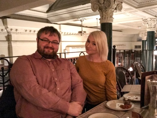 Glasgow Bloggers Meet up : Chris and Evy