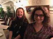 Glasgow Bloggers Meet up : Irina and Wendy
