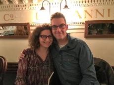 Glasgow Bloggers Meet up : Kris and Irina