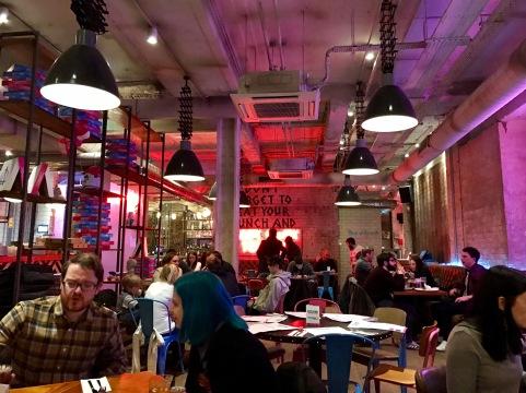 Pizza Punks Glasgow : Inside