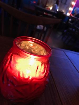 Poco Havana Glasgow : Table Candle