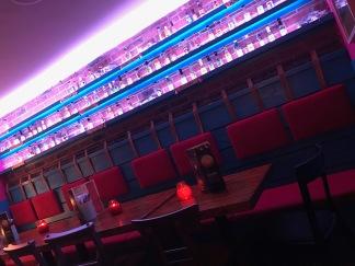 Poco Havana Glasgow : Inside Sauce Wall