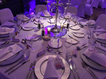 Glasgow Blysthwood Square Hotel : Table Setting 2
