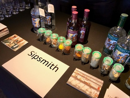 Gin Festival : Sipsmith Gin Table