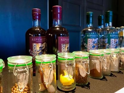 Gin Festival : Sipsmith Gin Bottles