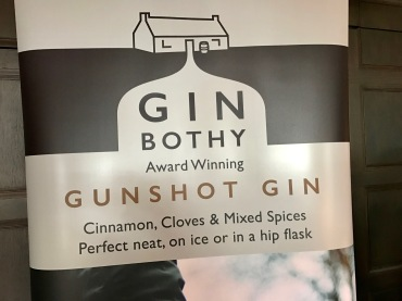 Gin Festival : Gin Bothy Sign