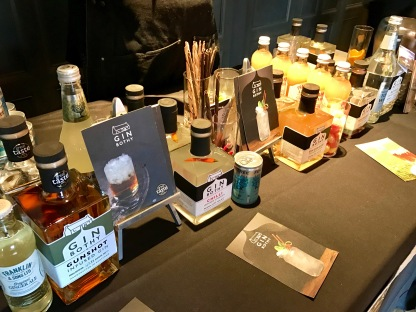 Gin Festival : Gin Bothy Table