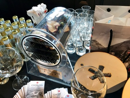 Gin Festival : Caorunn Mini Display