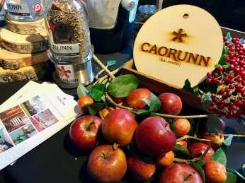 Gin Festival : Caorunn Display