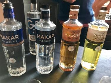 Gin Festival : Makar Gin Bottles