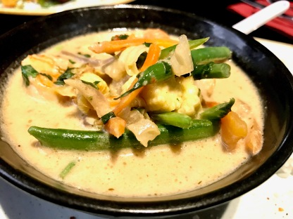 Obu Pan Asian : Thai Green Curry