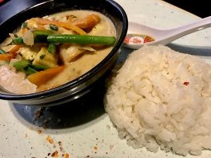 Obu Pan Asian : Thai Green Curry 2