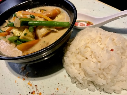 Obu Pan Asian : Thai Green Curry 2