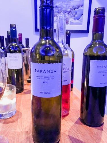 Mezze : Paranga Wine