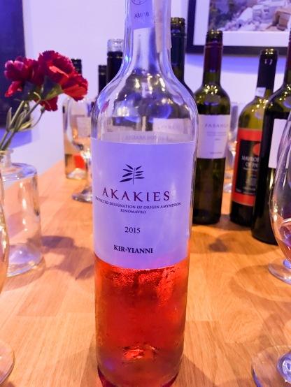 Mezze : Akakies Wine