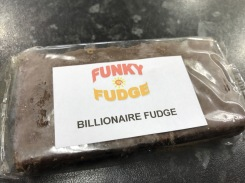 Lomond Shores Spring Fest : Funky Fudge Billionaire Fudge